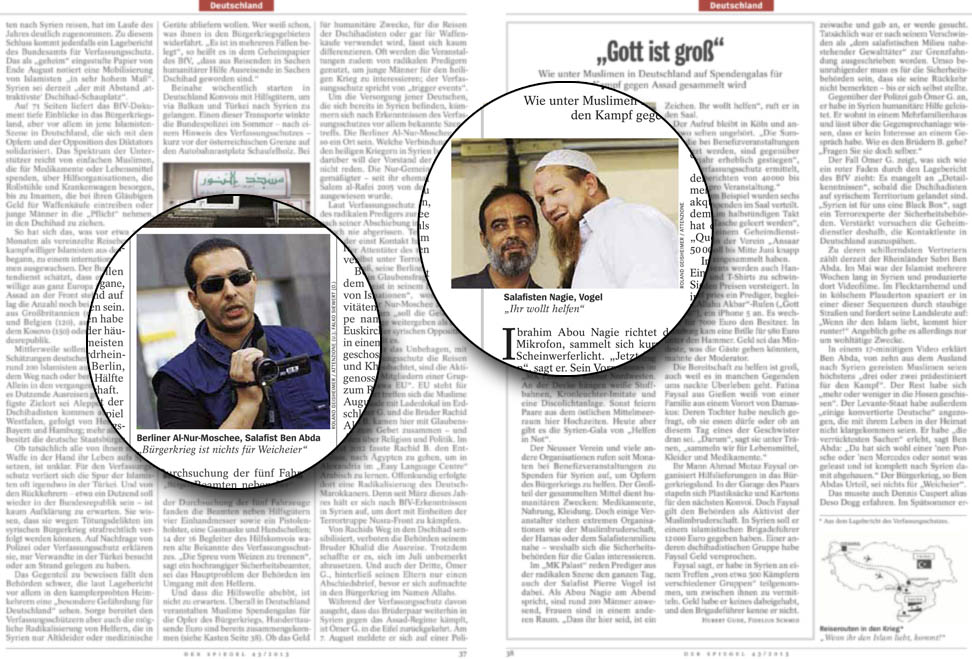 Der attenzione blog spiegel verfassungsschutz for Spiegel nachrichtenmagazin