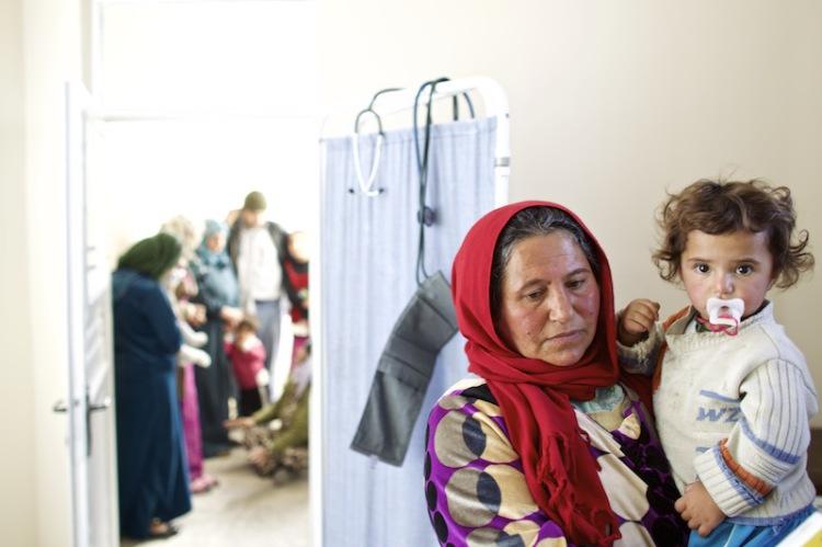 Syrische Flüchtlinge im türkischen Suruc