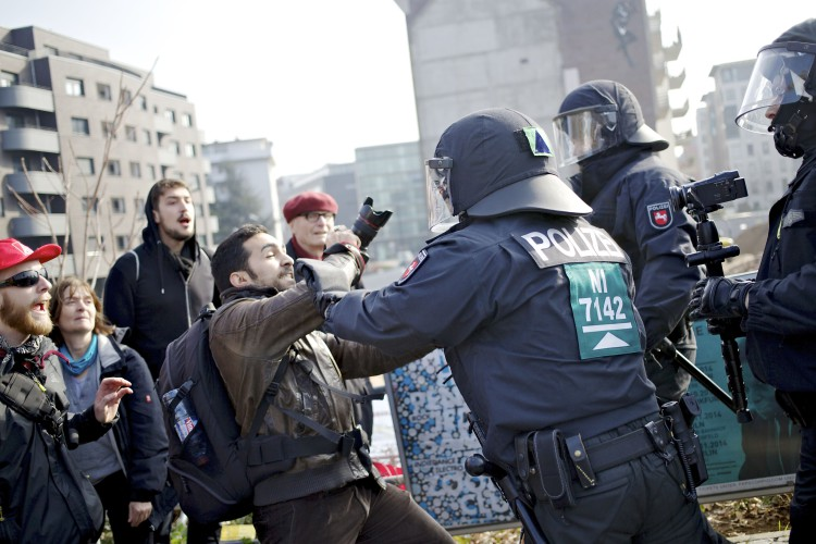 Blockupy - Frankfurt