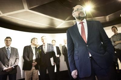 Nicht nur #Brexit – Martin Schulz bei ThyssenKrupp