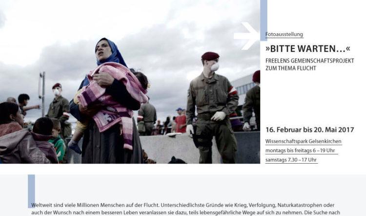 attenzione Ausstellung Flucht freelens