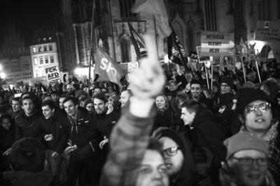 8000 gegen die AfD in Münster