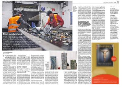 China will deutschen Müll nicht mehr